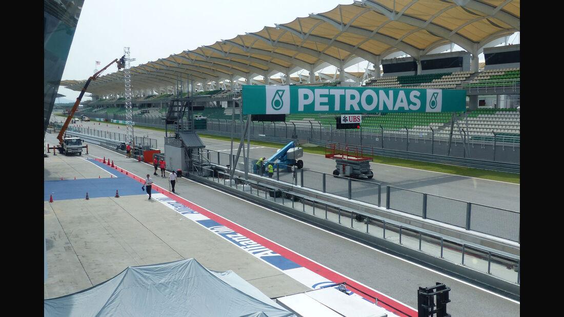 F1 Tagebuch - GP Malaysia 2015