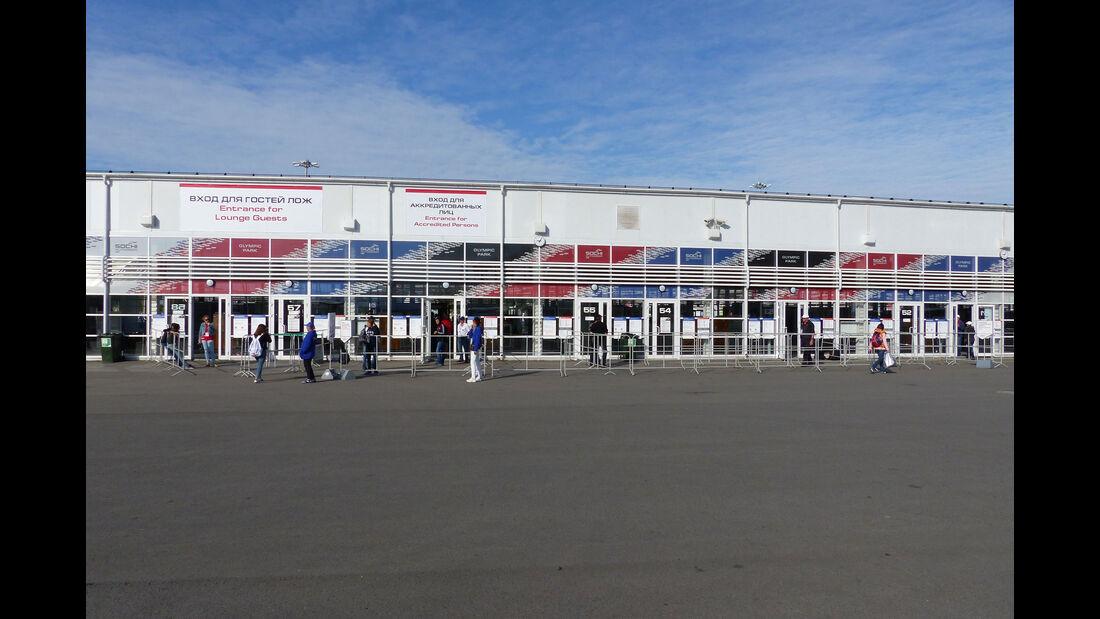 F1 Tagebuch - GP Russland 2015