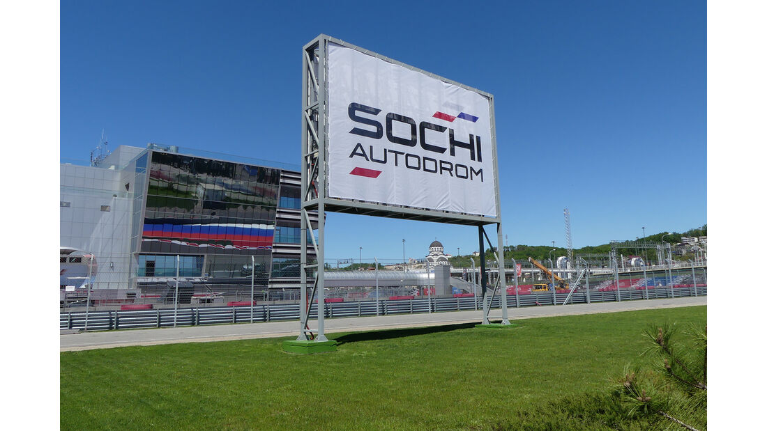 F1 Tagebuch - GP Russland 2017