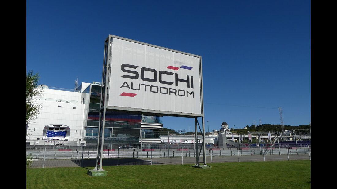 F1-Tagebuch - GP Russland 2018 - Sotschi