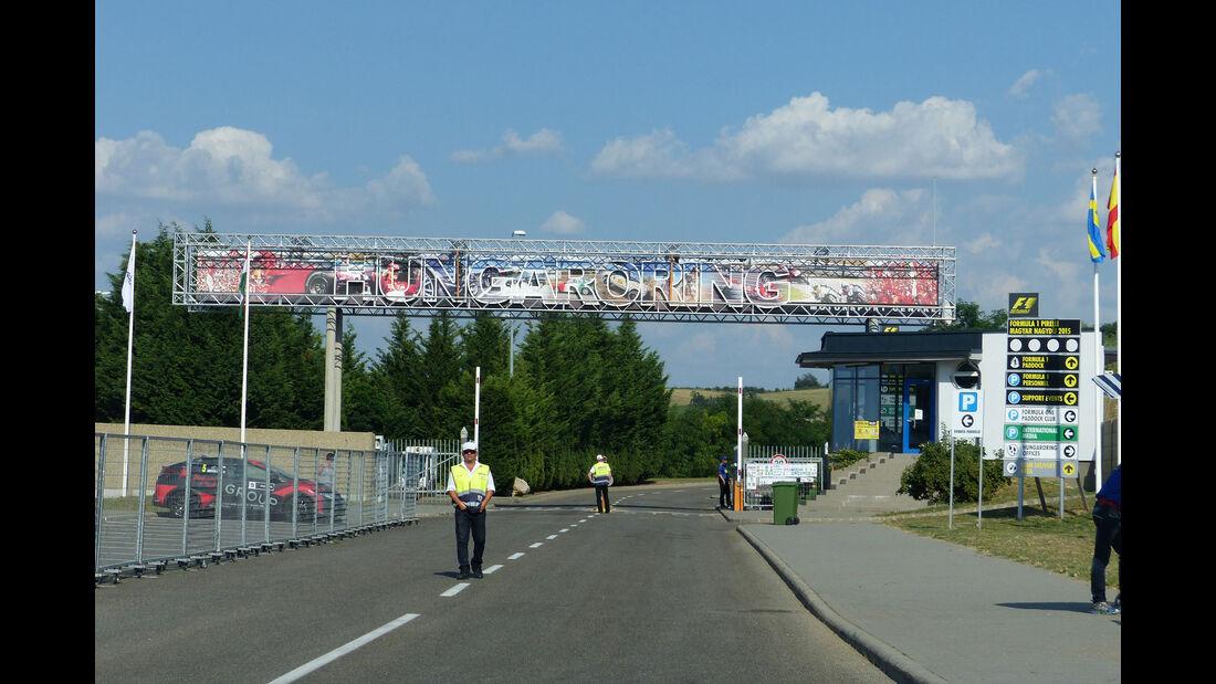 F1 Tagebuch - GP Ungarn 2015
