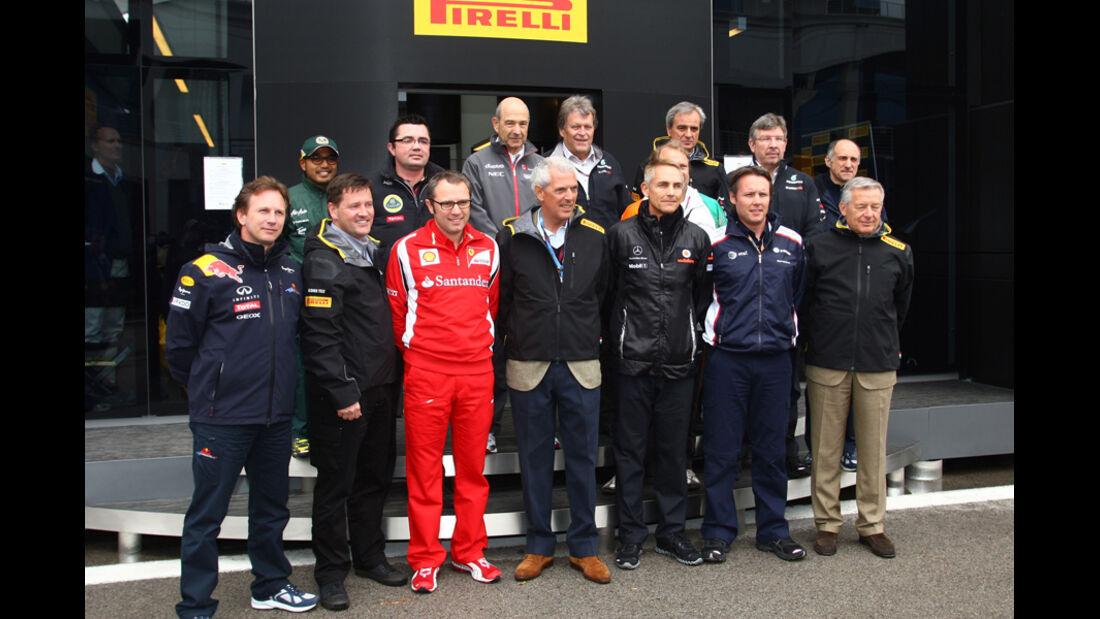 F1 Teamchefs GP Türkei 2011