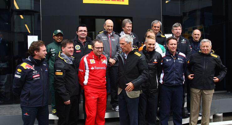 F1-Teamchefs - GP Türkei 2011