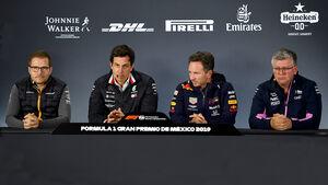 F1-Teamchefs - Konferenz - 2019