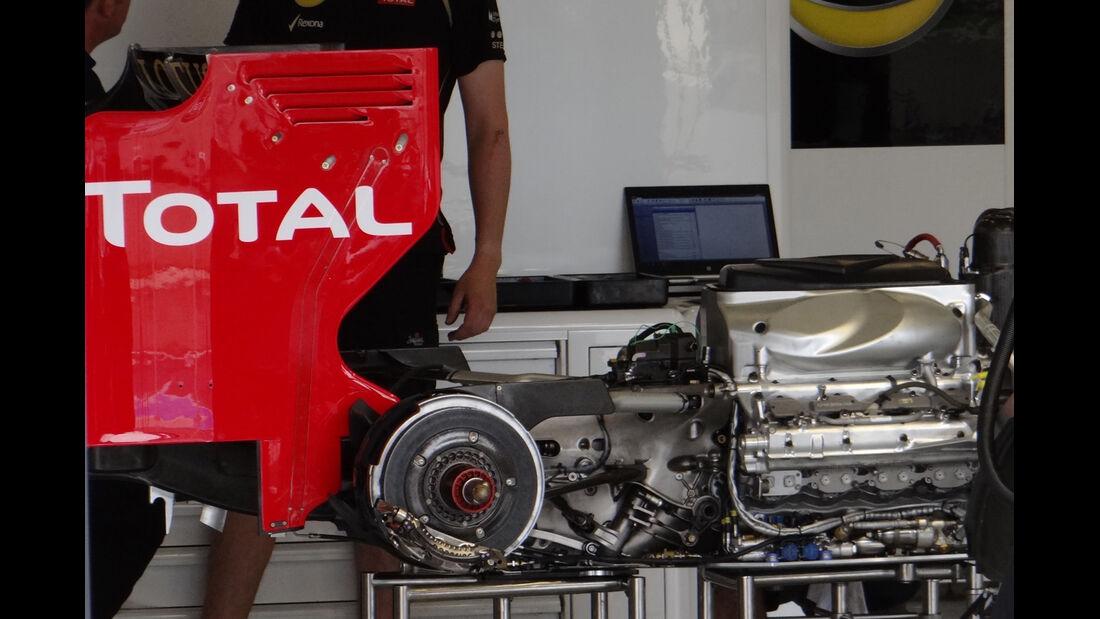 F1 Technik 2012 Lotus