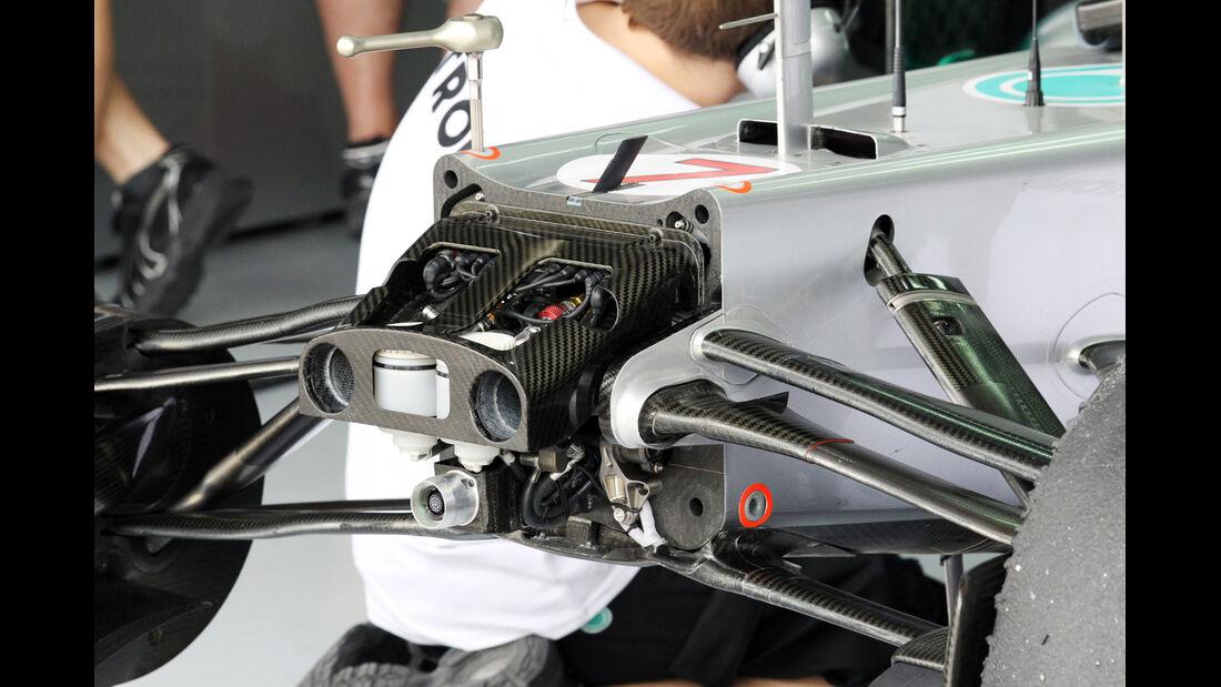 F1 Technik 2012 Mercedes