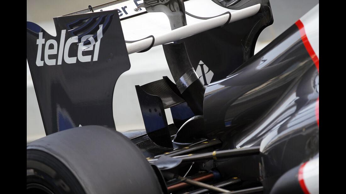 F1 Technik 2012 Sauber