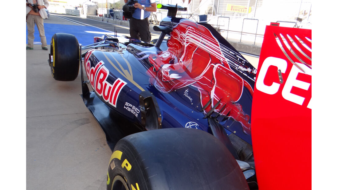 F1 Technik 2012 Toro Rosso