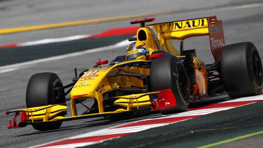F1 Technik GP Spanien