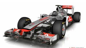 F1-Technik: McLaren-Frontflügel