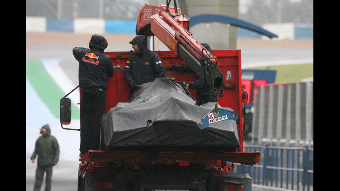F1-Test 2010 Defekt