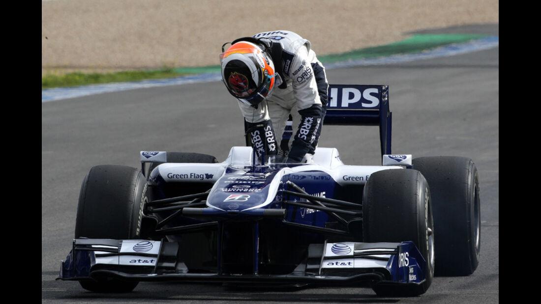 F1-Test 2010 Hülkenberg
