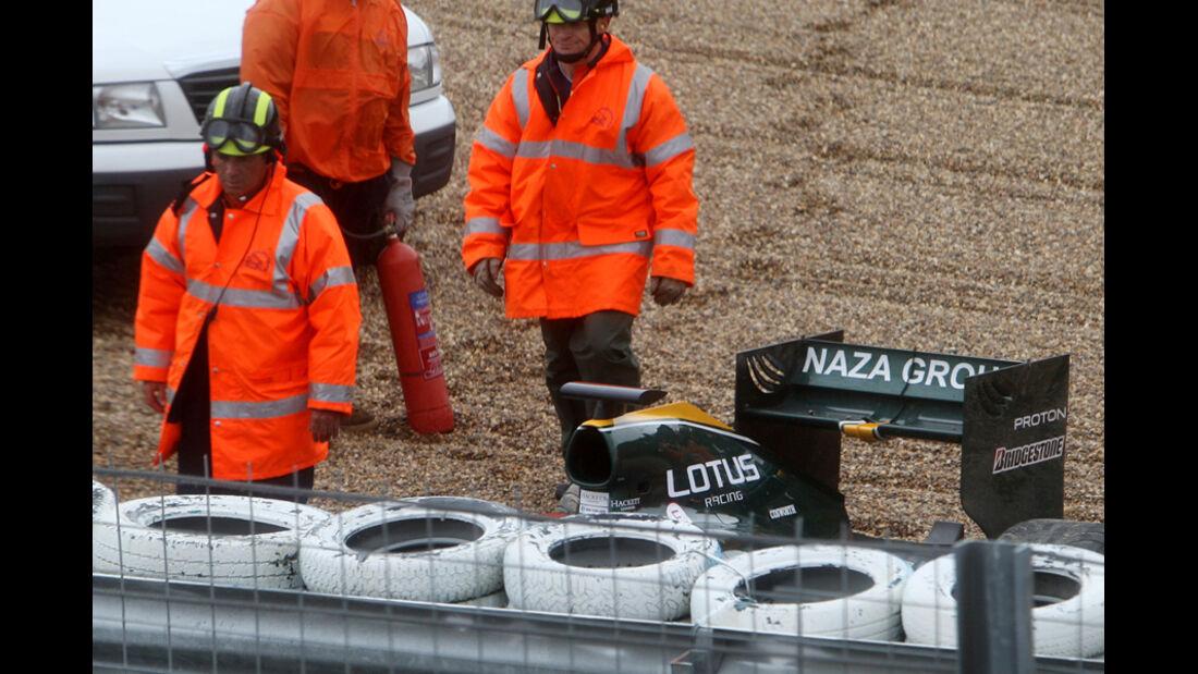 F1-Test 2010 Kovalainen