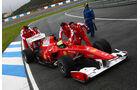 F1-Test 2010 Massa