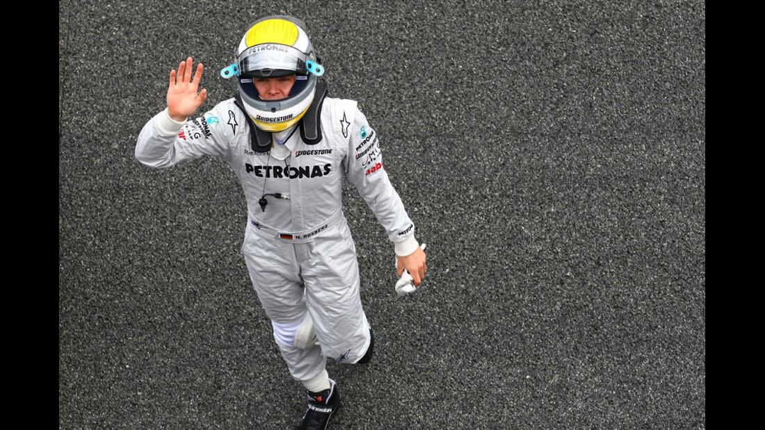 F1-Test 2010 Rosberg