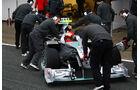 F1-Test 2010 Schumacher