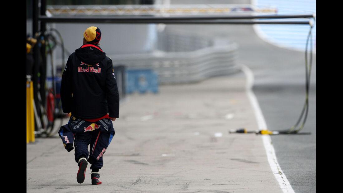 F1-Test 2010 Vettel