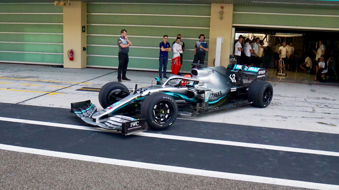 F1-Test - Abu Dhabi 2019 - 18-Zoll-Räder