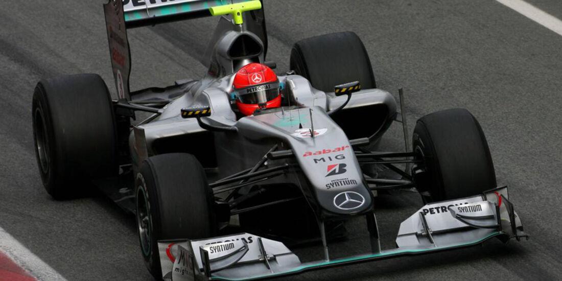 F1 Test Barcelona 2010