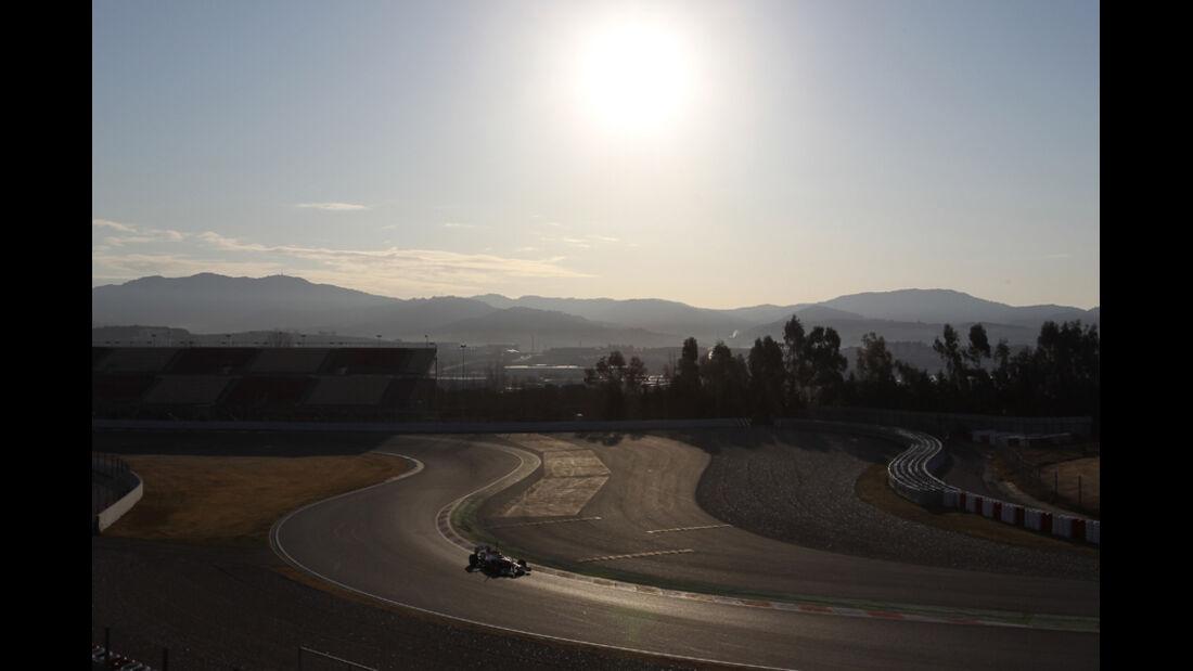 F1-Test - Barcelona 2012