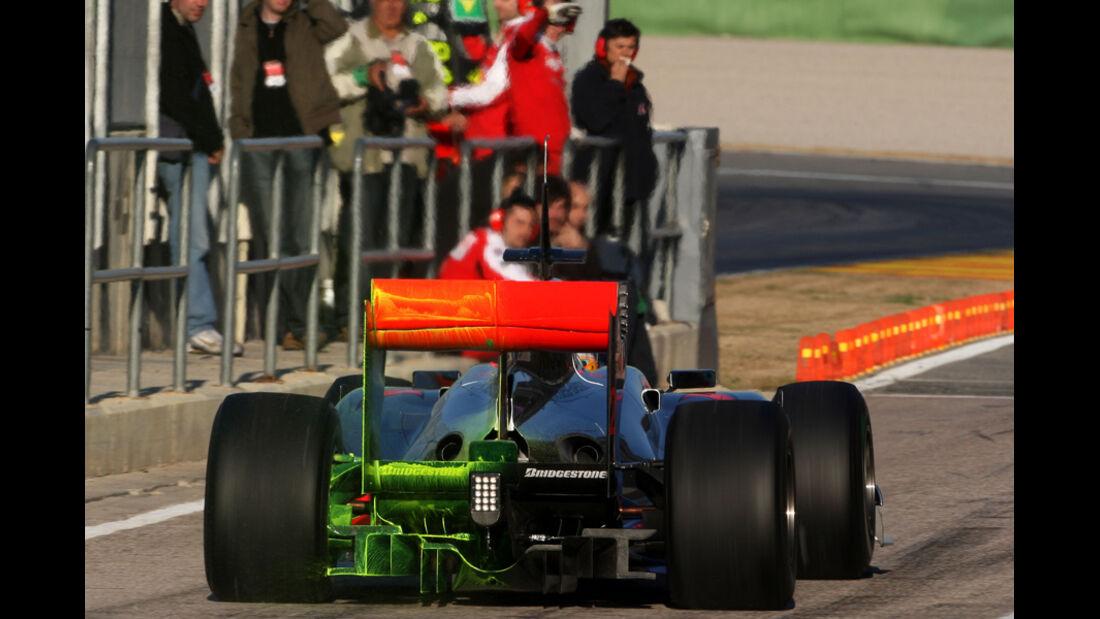 F1-Test McLaren 2010