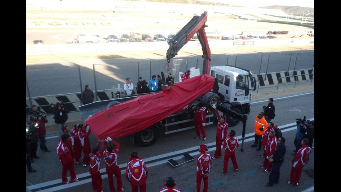 F1-Test Valencia 2012