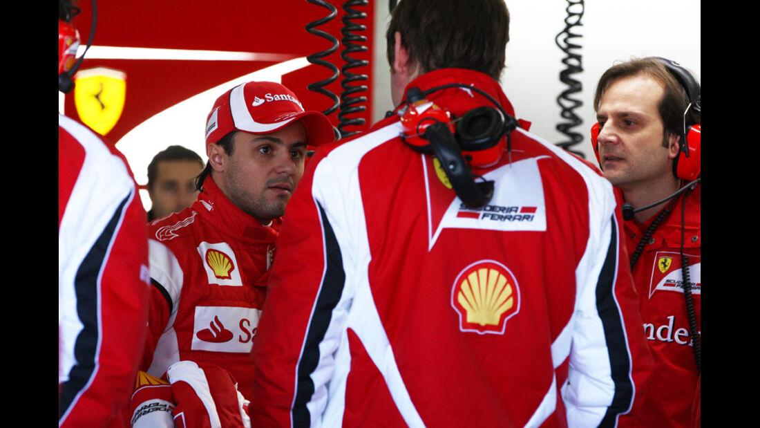 F1-Test Valencia 2014