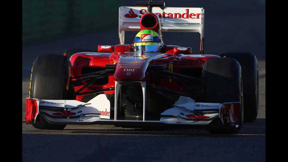 F1-Test Valencia 2015