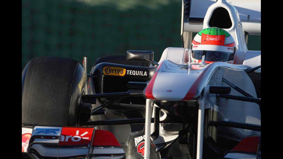 F1-Test Valencia 2016