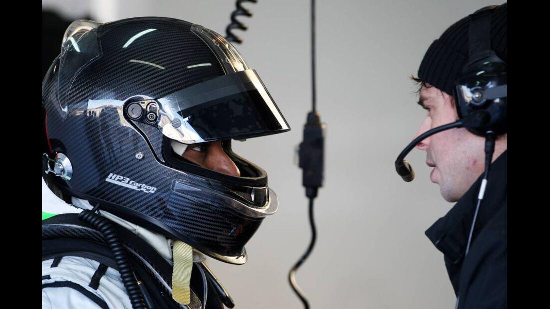F1-Test Valencia 2020