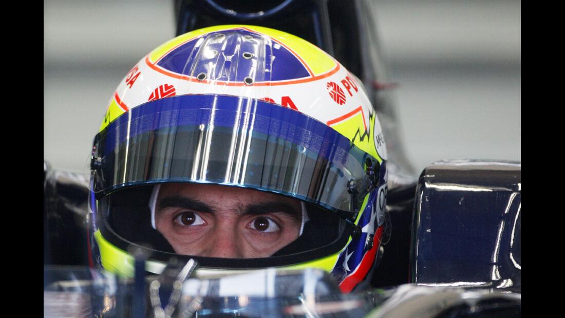 F1-Test Valencia 2025