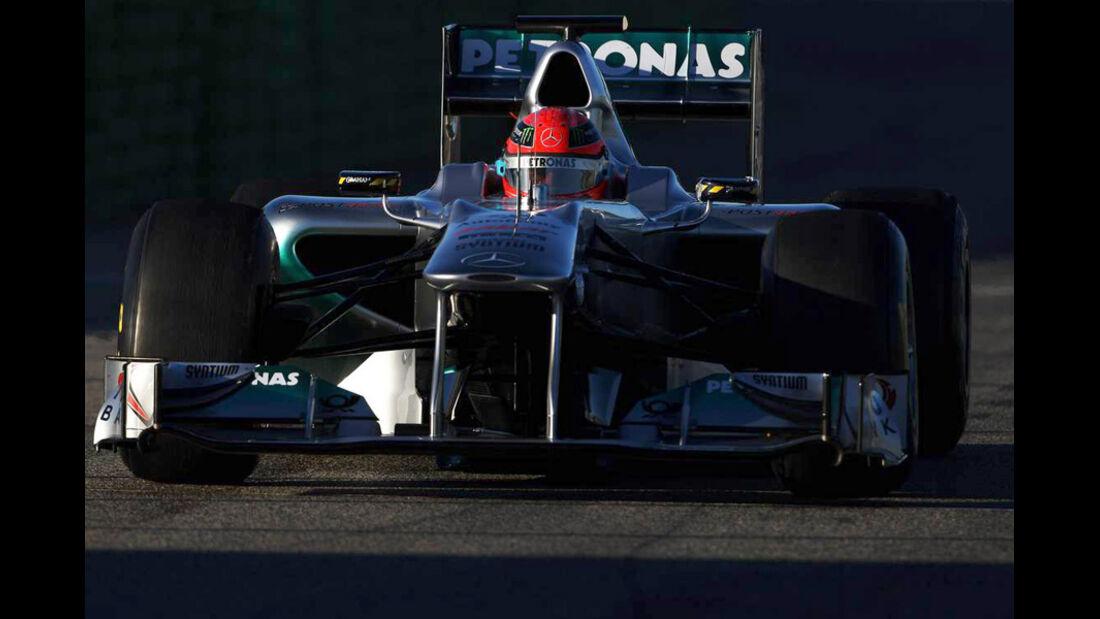 F1-Test Valencia 2026
