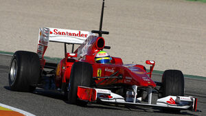 F1 Test Valencia Tag 1
