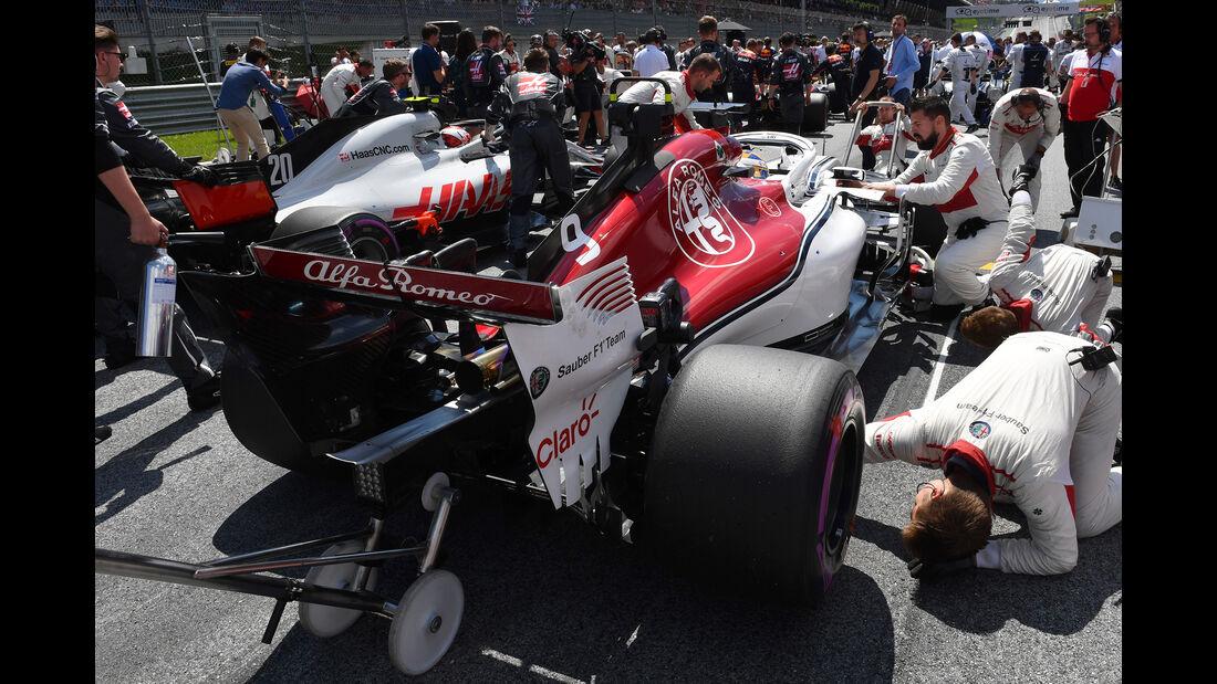 F1-Triple-Header - Frankreich, Österreich, England 2018