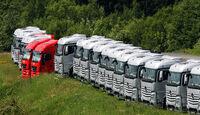 F1-Trucks - Formel 1 - GP Deutschland - 6. Juli 2013
