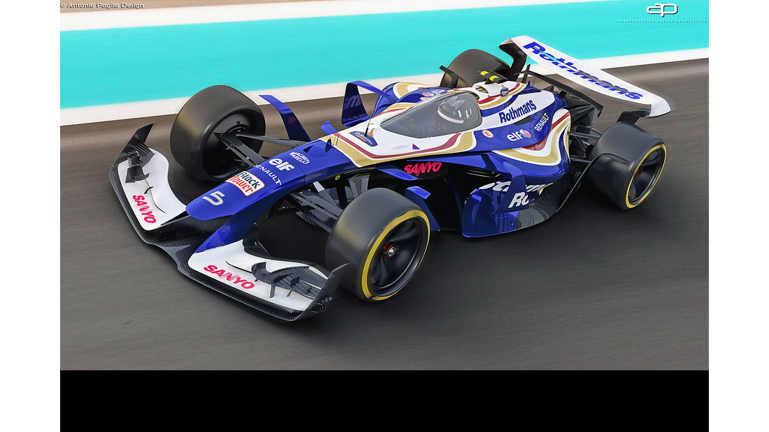 F1 Vision Concept 2025 - Motorsport - Cockpit-Kanzel - Grafikdesigner