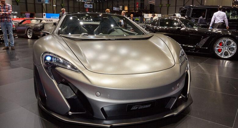 FAB Design-McLaren 650S VAYU RPR Spider in Genf