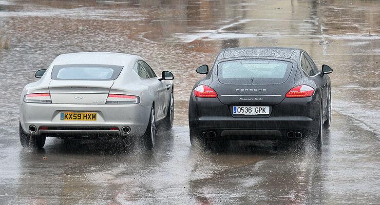 FB Aston Martin Rapide und Porsche Panamera