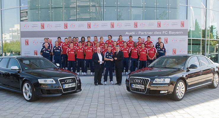 FC Bayern M�nchen Audi 2009 Fu�baller