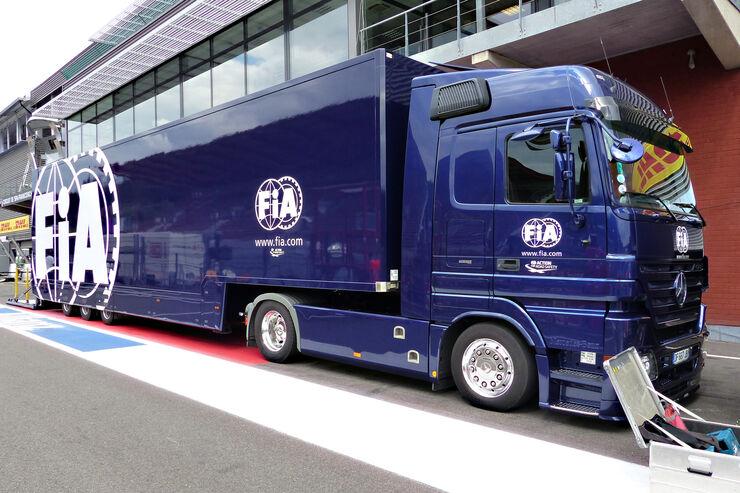 FIA - Formel 1 - GP Belgien - Spa-Francorchamps - 19. August 2015