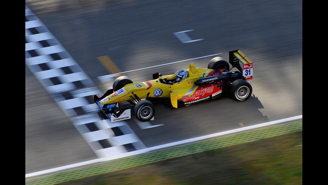 FIA Formel 3 Europameisterschaft - Tom Blomqvist - Hockenheim - 10/2014