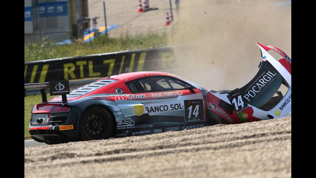 FIA GT Zandvoort - Crash - 2013