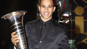 FIA Gala 2008 - Lewis Hamilton