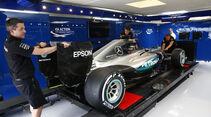 FIA Garage - Mercedes - Formel 1 - 2016