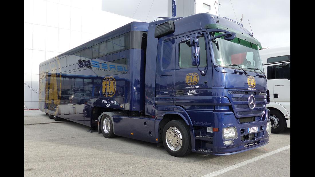 FIA - Impressionen - Jerez - Formel 1-Test - 30. Januar 2015