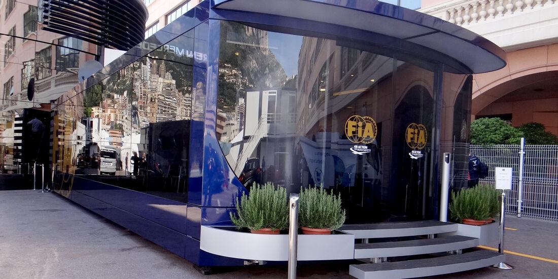 FIA-Motorhome - GP Monaco - 23. Mai 2012