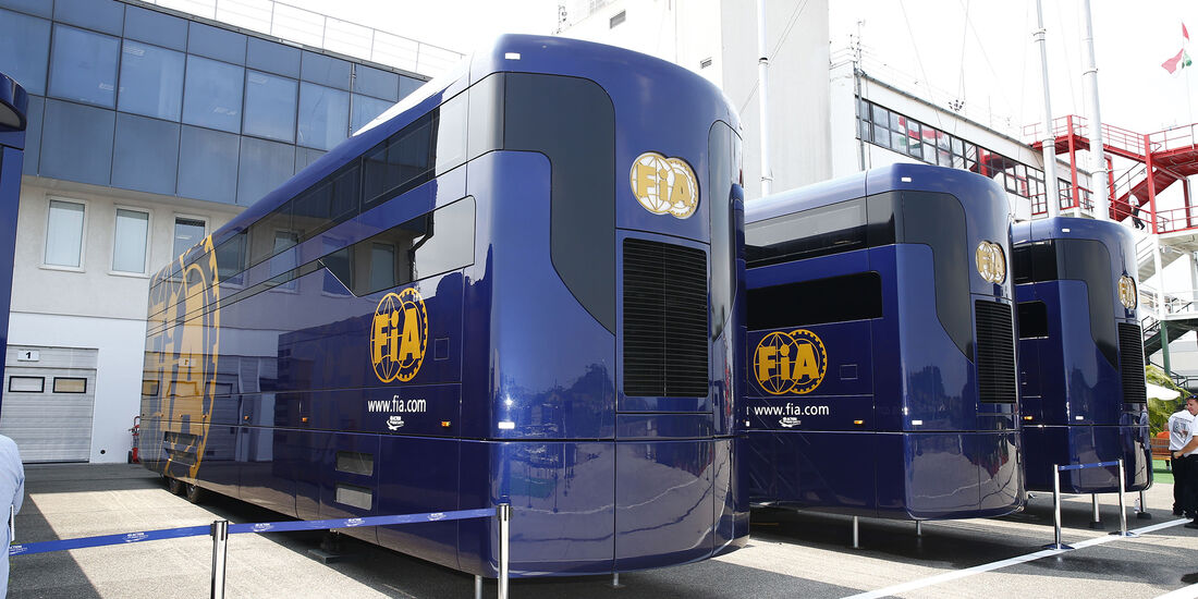 FIA Motorhomes - Formel 1 - 2016