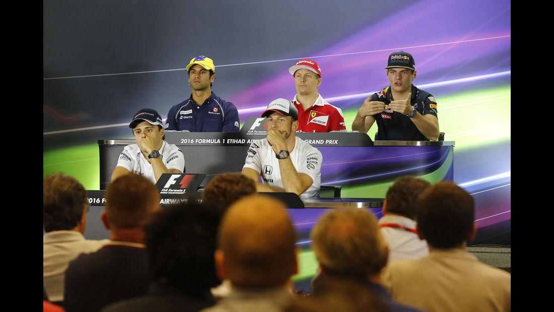 FIA-PK - Formel 1 - GP Abu Dhabi - 24. November 2016