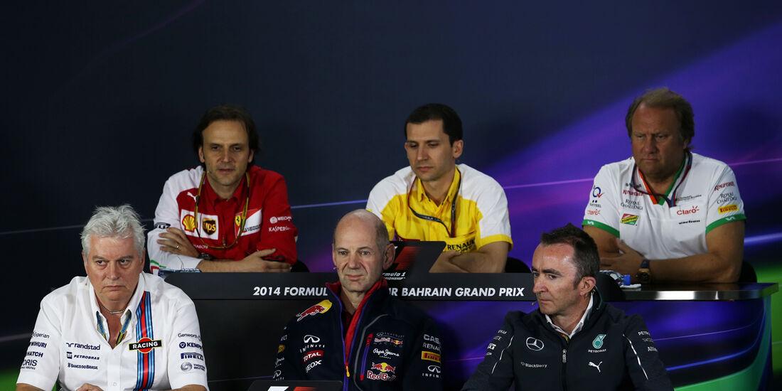 FIA PK - Formel 1 - GP Bahrain - Sakhir - 4. April 2014
