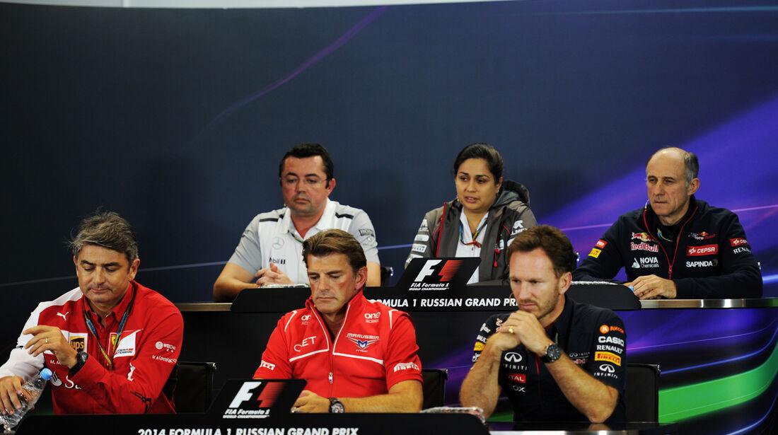 FIA-PK - Formel 1 - GP Russland - Sochi - 10. Oktober 2014